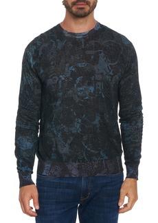 Robert Graham x Ryan McGinness Mindscape Print Sweater