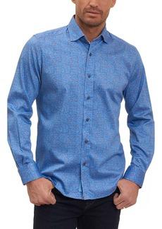 Robert Graham Zander Tailored Fit Sport Shirt