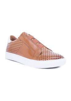 Robert Graham Rowley Perforated Slip-On Sneaker