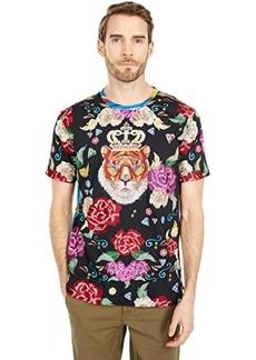 Robert Graham Royal Garden Limited Edition Short Sleeve Knit T-Shirt