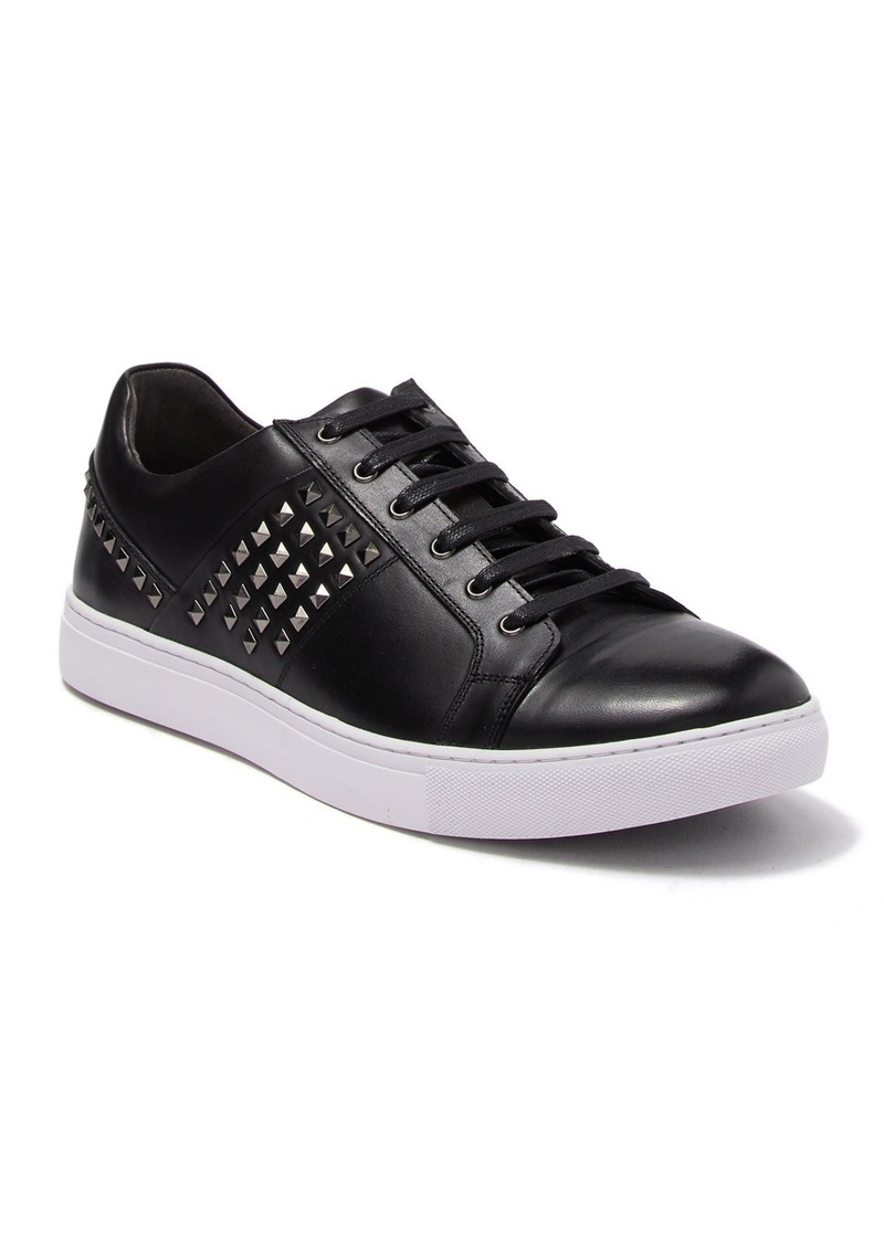 Robert Graham Ruman Studded Leather Sneaker