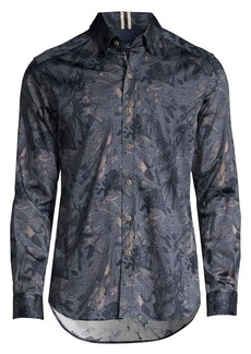 Robert Graham Salger Print Shirt