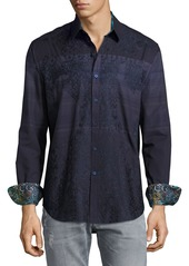 Robert Graham Sarees Embroidered Sport Shirt