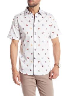 Robert Graham Sea Ribbon Short Sleeve Classic Fit Shirt