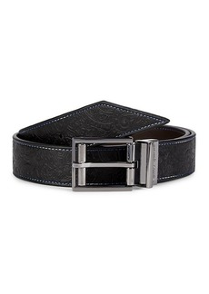 Robert Graham Sequential Reversible Leather Belt
