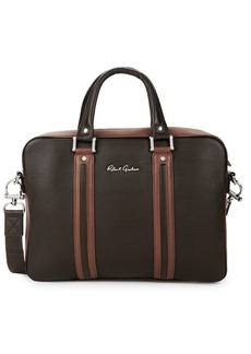 Robert Graham Skandar Leather Briefcase