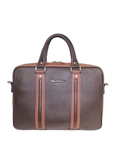 Robert Graham Skandar Slim Leather Briefcase
