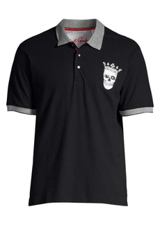 Robert Graham Skull King Polo Shirt