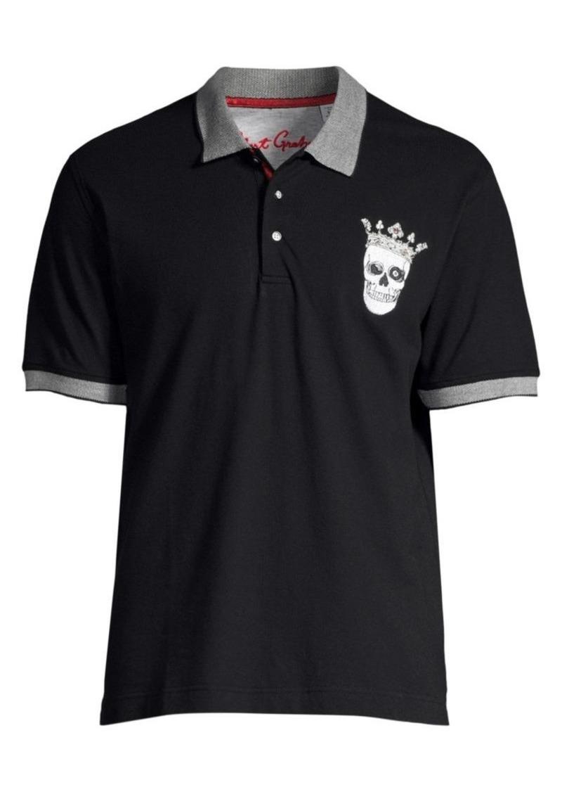 Robert Graham Skull King Polo Shirt