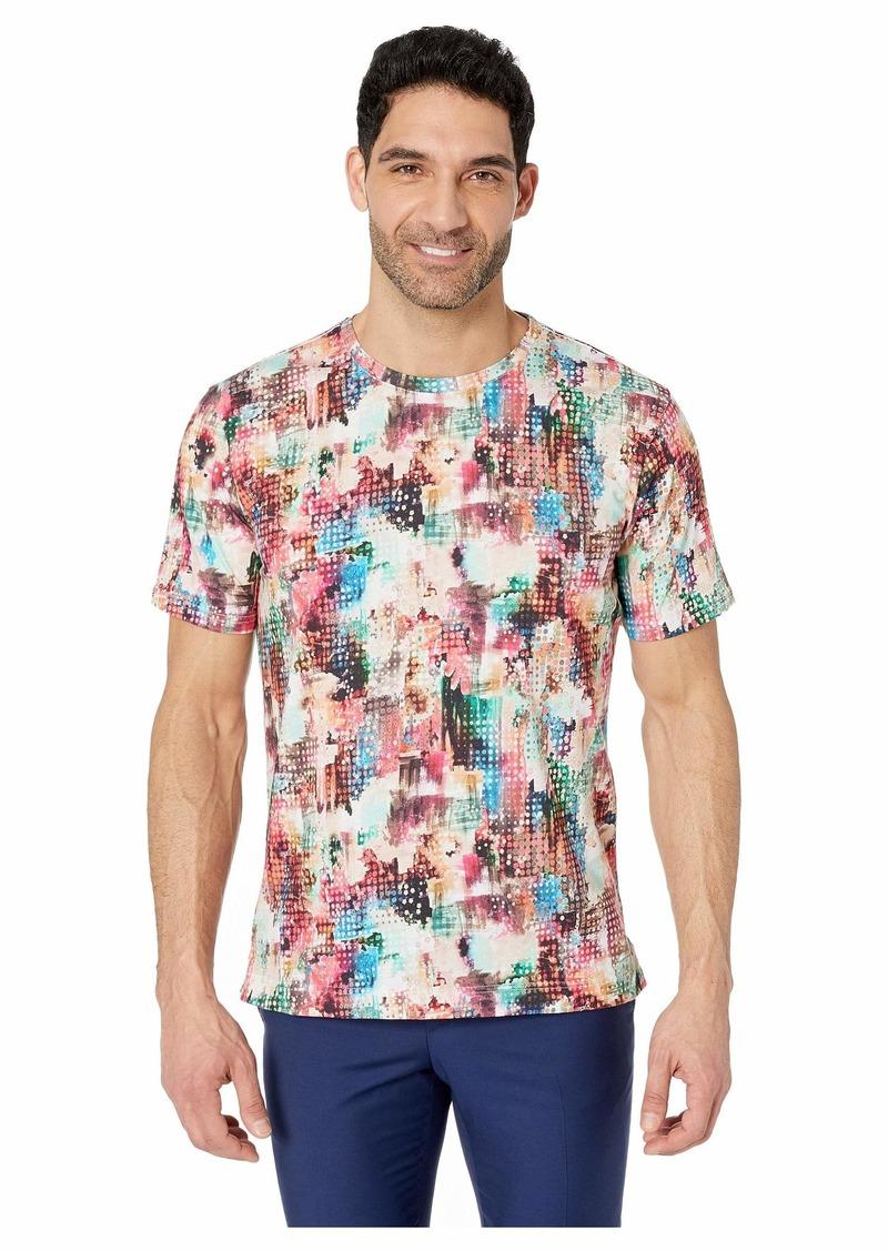 Robert Graham Sparta Short Sleeve Knit T-Shirt