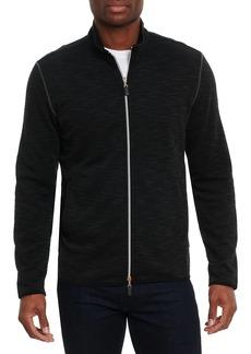 Robert Graham Stallworth Classic-Fit Full-Zip Sweater