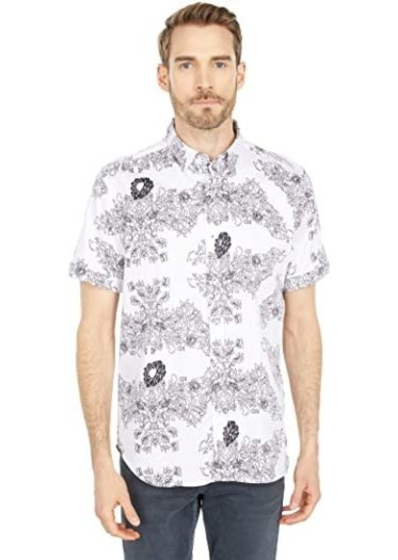 Robert Graham Stern Short Sleeve Woven Shirt