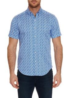 Robert Graham Tailored Fit Ashmead Short Sleeve Shirt