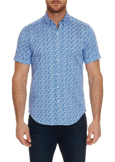 Robert Graham Tailored Fit Ashmead Short Sleeve Shirt
