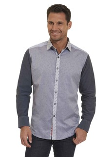 Robert Graham Tailored Fit Bergamot Sport Shirt In
