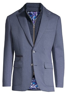 Robert Graham Tailored-Fit Downhill IV Sportcoat with Vest