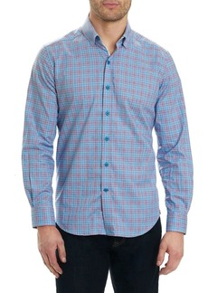 Robert Graham Tartan Patterned Shirt