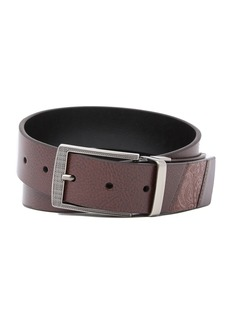 Robert Graham Terdel Reversible Leather Belt