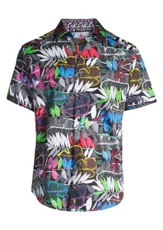 Robert Graham Terzis Cotton Print Shirt