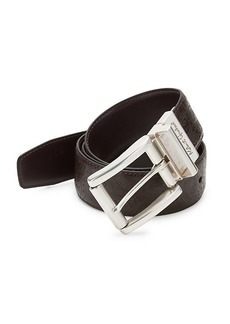 Robert Graham Textured Leather Belt