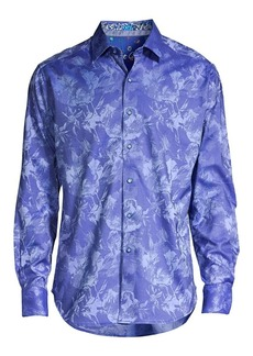 Robert Graham The Rose Printed Dress Shirt