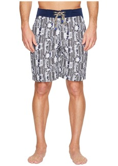 Robert Graham Tongva Park Woven Swim Trunk