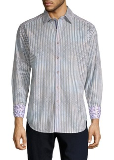Robert Graham Trinidad Geometric Button-Down Shirt