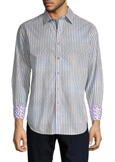 Robert Graham Trinidad Geometric Button-Down Shirt