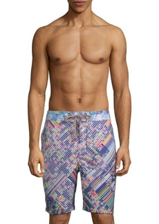 Robert Graham Universe Multicolored Swim Shorts