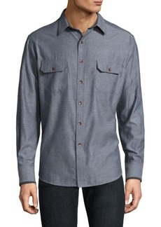 Robert Graham Upstate Cotton Casual-Button Down