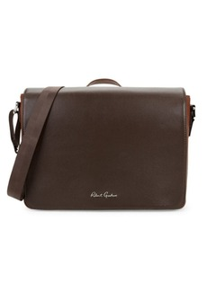 Robert Graham Walden Leather Messenger Bag