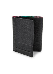 Robert Graham Wallace Embossed Leather Tri-Fold Wallet