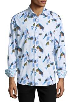 Robert Graham Watercolor Sport Shirt