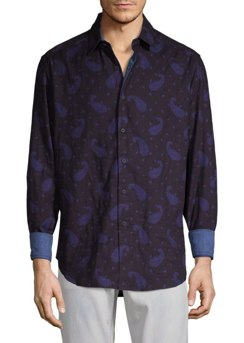 Robert Graham Wayfarer Paisley Button-Down Shirt