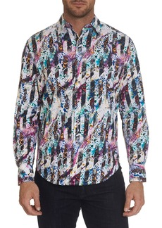 Robert Graham Waynesboro Abstract Print Classic Fit Shirt