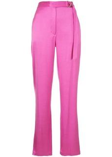 Robert Rodriguez belted high-waist trousers