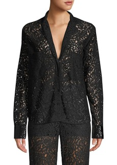 Robert Rodriguez Lace Blouse