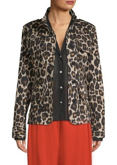 Robert Rodriguez Printed Military Jacket