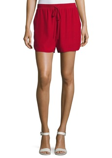 Robert Rodriguez Relaxed Low-Rise Drawstring Silk Shorts