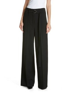 Robert Rodriguez Belted Wide Leg Pants