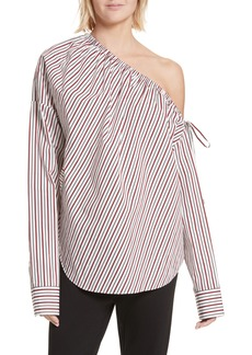 Robert Rodriguez Cinched One-Shoulder Top