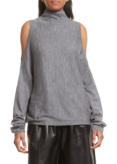 Robert Rodriguez Cold Shoulder Merino Wool Sweater