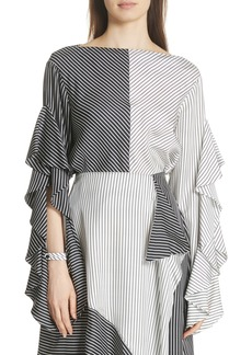 Robert Rodriguez Colorblock Stripe Top