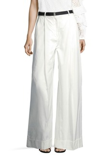 Robert Rodriguez Cotton Wide Leg Pants