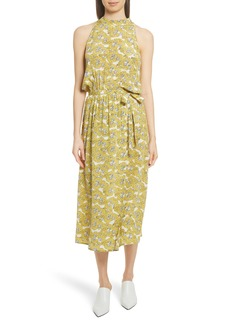 Robert Rodriguez Dania Floral Print Dress