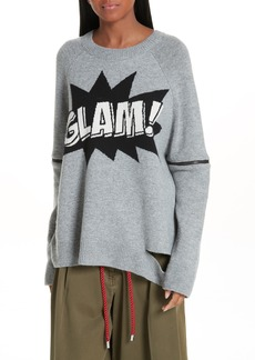 Robert Rodriguez Glam Sweater