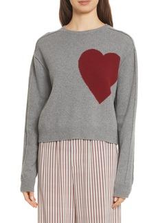 Robert Rodriguez Heart Wool & Cashmere Sweater