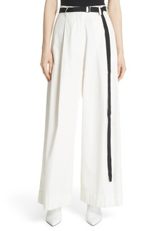 Robert Rodriguez High Waist Wide Leg Pants