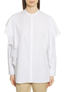 Robert Rodriguez Layered Lace Shirt