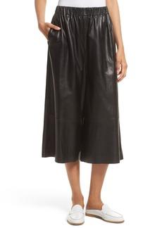 Robert Rodriguez Leather Gaucho Pants